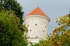 Pieskowa Skala Castle In National Park Ojcow Stock Image