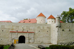 Pieskowa Skala Castle In National Park Ojcow Royalty Free Stock Photos