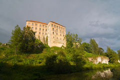 Pieskowa Skala castle Stock Images