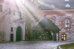 Pieskowa Skala castle near Krakow Royalty Free Stock Photos