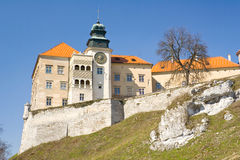Pieskowa Skala castle near Krakow Stock Photography