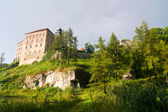 Pieskowa Skala castle Stock Photo
