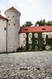 Pieskowa Skala Castle in Poland Stock Photography