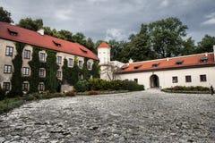 Pieskowa Skala Castle in Poland Stock Photo
