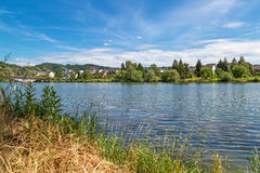 Piesport at the Moselle Royalty Free Stock Photos
