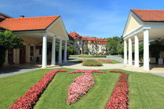 Piestany spa Stock Photos