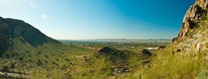 Piestewa, Squaw Szczytowy Panoramiczny/ Obrazy Stock