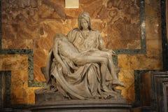 Pietà de Michelangelo imagem de stock