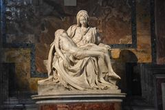 Pietà by Michelangelo royalty free stock photos