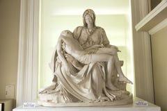 PietÃ的拷贝-雕塑米开朗基罗 图库摄影