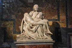 Pietà por Michelangelo fotos de stock royalty free