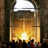 Pieta που λάμπει κατευθείαν Στοκ Φωτογραφία