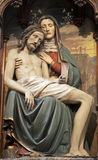 Pieta - carving from Vienna church Stock Image