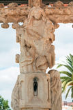 Pieta on The Cruz de Portugal in Silves city Stock Photography
