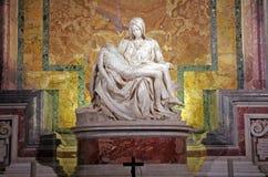Pieta de Michelangelo imagens de stock royalty free