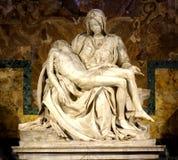 Pieta door Michelangelo stock afbeelding