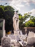 Pieta em um cemitério cubano Foto de Stock