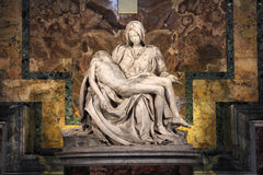 Pieta by Michelangelo Stock Image