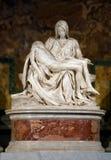Pieta Michelangelo Buonarroti przy Vaticano - Włochy Obraz Royalty Free