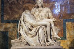 Pieta by Michelangelo Stock Images