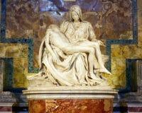 Pieta Michelangelo w St Peter bazylice obraz stock