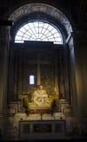 Pieta - Michelangelos mästerverk, St Peters Basilica, Vaticanen royaltyfria foton
