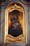 Pieta, sanktuarium St Agatha w Schmerlenbach, Niemcy Zdjęcia Stock