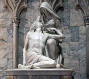 Pieta Sculptue St Patrick ` s katedra zdjęcia royalty free