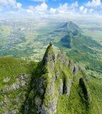 Pieter оба гора Маврикий стоковые изображения rf