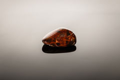 Pietersite on glossy surface Royalty Free Stock Photography