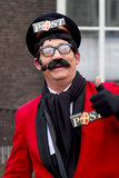 Pietertjepost the postman of Saint Nicolaas Royalty Free Stock Photography