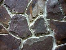 Pietra allineata parete, struttura, fondo immagini stock