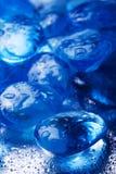 Pietra blu magica Fotografia Stock
