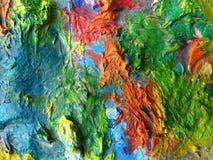 Pietra colorata Immagine Stock