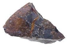 Pietra cruda della roccia della colata di impatto del tagamite Fotografie Stock Libere da Diritti