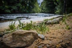 Pietra dal fiume Immagine Stock
