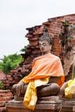 Pietra del Buddha Fotografia Stock Libera da Diritti