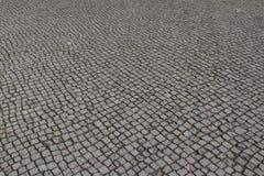 Pietra del ciottolo streed/pavimento Immagine Stock