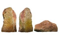 Pietra del granito Fotografie Stock