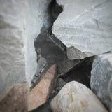 Pietra del granito Immagini Stock Libere da Diritti