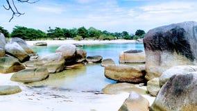 Pietra del granito Fotografia Stock Libera da Diritti
