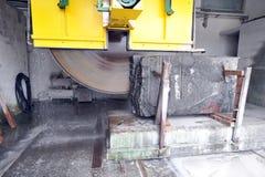 Pietra del granito di taglio Fotografia Stock Libera da Diritti