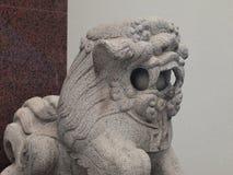 Pietra del leone Fotografia Stock
