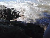 Pietra del mare Immagini Stock Libere da Diritti