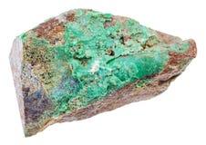 Pietra del nichelio verde della roccia della falcondoite Immagine Stock Libera da Diritti