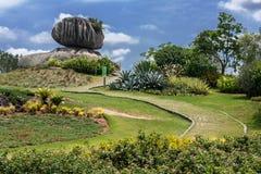 Pietra della cipolla in Vitoria Espirito Santo Brazil Immagini Stock Libere da Diritti