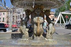 Pietra della fontana fotografia stock libera da diritti