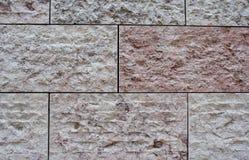 Pietra della parete Immagine Stock