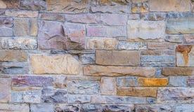 Pietra della parete di struttura del fondo Immagine Stock