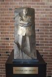 Pietra della replica commemorativa di speranza immagini stock